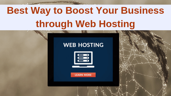 Boost Your Business through Web Hosting