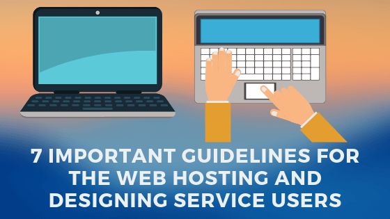 Web Hosting and Designing Service Users