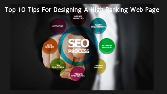 Tips For Designing High Ranking Web Page