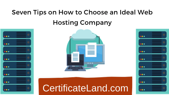 Choose an Ideal Web Hosting Company