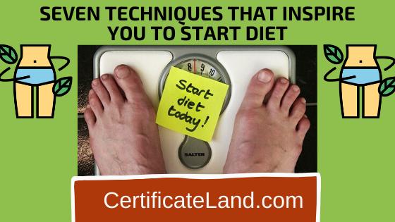 Start Your Diet