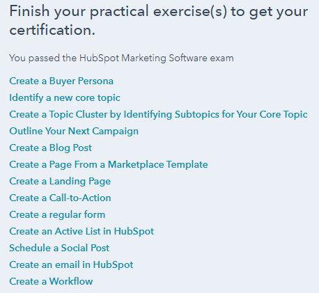 HubSpot Marketing Software Practical Exercise