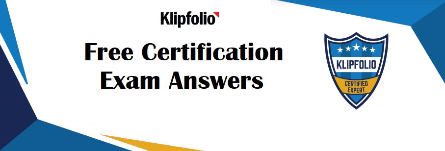 Klipfolio Certification