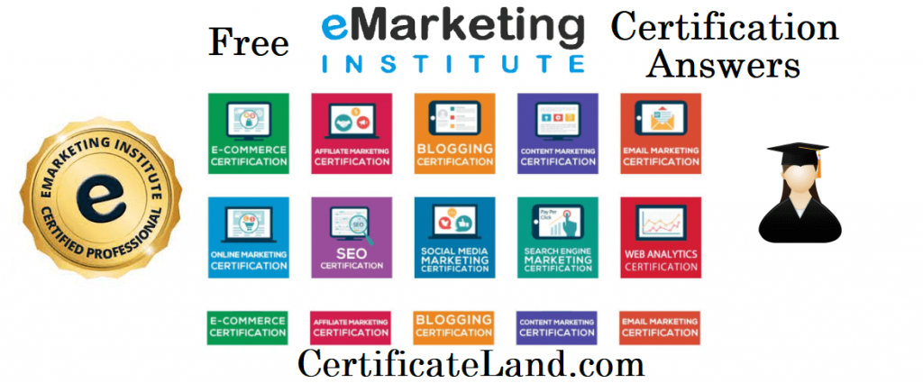 eMarketing Institute Certification