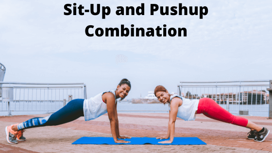 Sit-Up and Pushup Combination